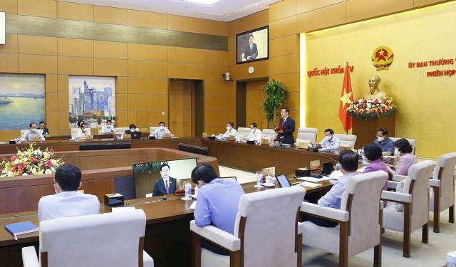 Khai mạc Phiên họp thứ 4 của Ủy ban Thường vụ Quốc hội - Ảnh 10.