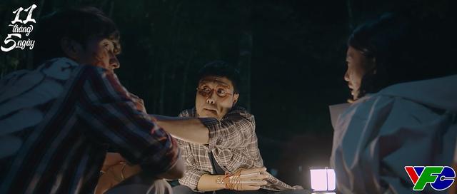 11 tháng 5 ngày - Tập 33: Đăng xưng anh với Nhi, canh Nhi và Trí trong đêm giữa rừng vắng - ảnh 7