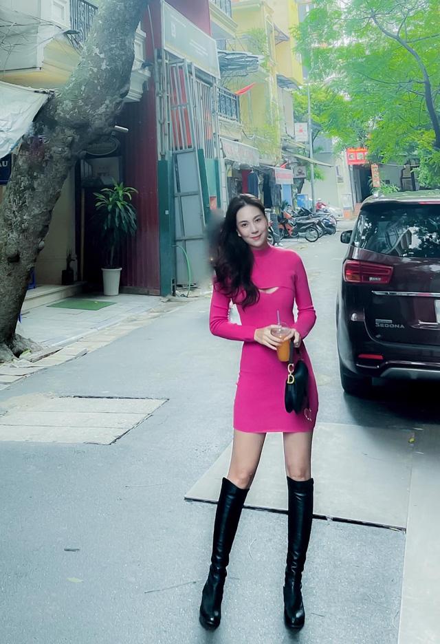 BST hồng chói lọi kén người mặc của BTV Mai Ngọc - ảnh 3