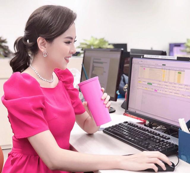 BST hồng chói lọi kén người mặc của BTV Mai Ngọc - ảnh 21