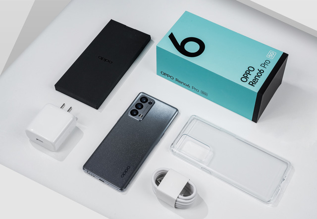 Ra mắt smartphone Reno 6 Pro 5G - ảnh 1