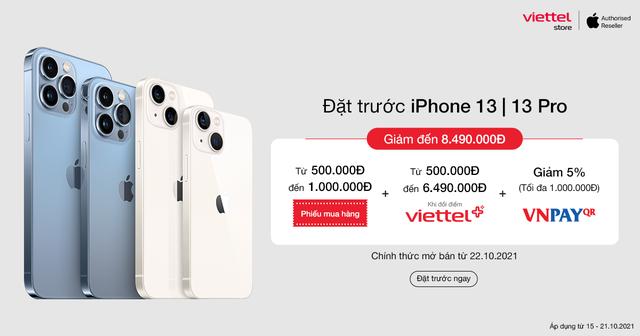 Đã có thể đặt trước iPhone 13 Series chỉ từ 13.000.000đ tại Viettel Store - ảnh 1