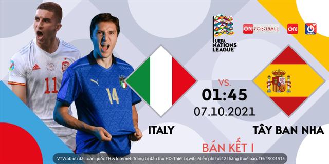 Bán kết UEFA Nation League: Trực tiếp trên VTVcab - ảnh 3