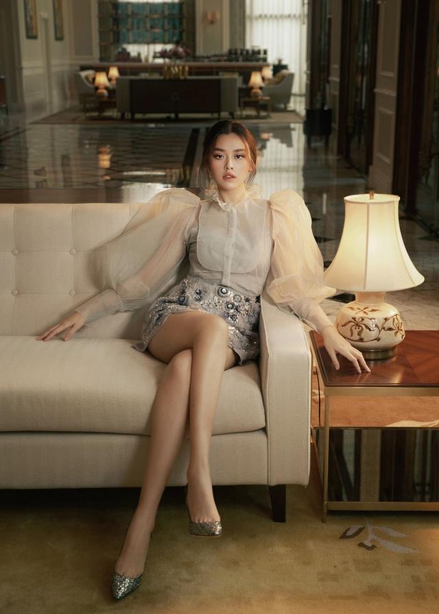 Hậu kết hôn, Á hậu Tường San cuốn hút như Song Hye Kyo - Ảnh 1.