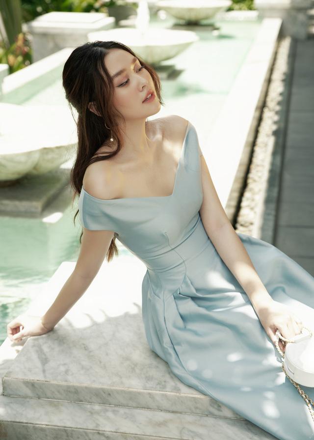 Hậu kết hôn, Á hậu Tường San cuốn hút như Song Hye Kyo - Ảnh 8.