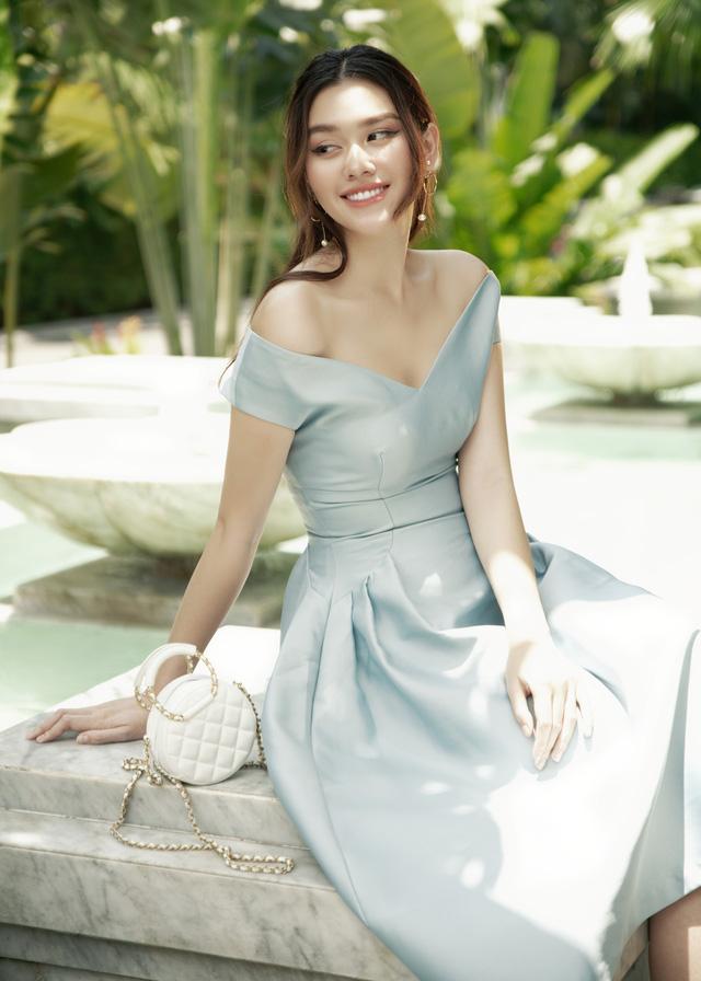 Hậu kết hôn, Á hậu Tường San cuốn hút như Song Hye Kyo - Ảnh 9.