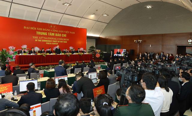 Tổng Bí thư Nguyễn Phú Trọng: Đại hội XIII thành công rất tốt đẹp - Ảnh 1.