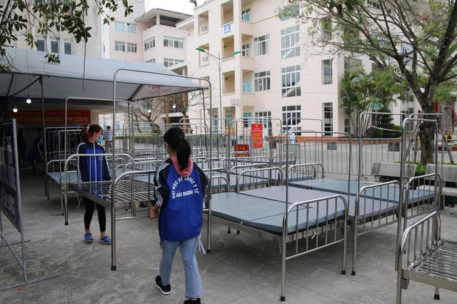 Bệnh viện dã chiến số 2 Hải Dương nâng công suất lên hơn 600 giường - Ảnh 1.