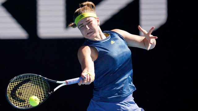 Jennifer Brady thắng kịch tính Karolina Muchova để giành quyền vào chung kết Australia mở rộng 2021 - Ảnh 4.