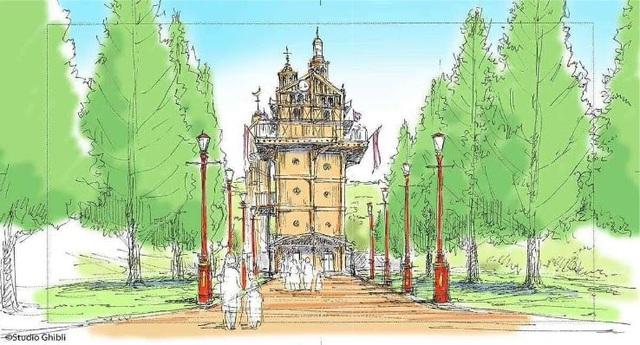 """Công viên Ghibli công bố sẽ xây dựng lâu đài """"Howl's Moving Castle"""" - ảnh 5"""