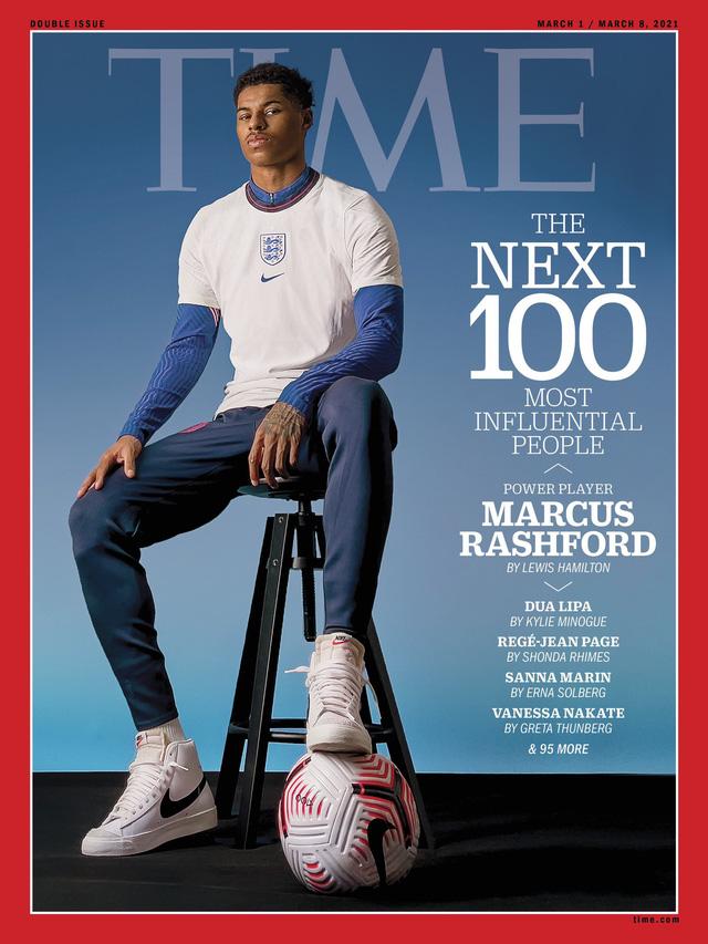 Marcus Rashford được bầu chọn 100 nhân vật ảnh hưởng nhất thế giới - Ảnh 3.