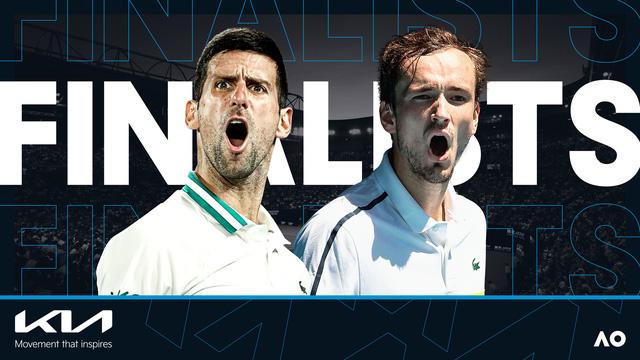 Novak Djokovic - Daniil Medvedev: Màn so tài đáng chờ đợi (CK đơn nam Australia mở rộng 2021) - Ảnh 3.