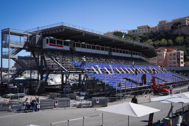 Chính quyền Monaco xây dựng lại trường đua cho mùa giải 2021 - Ảnh 1.