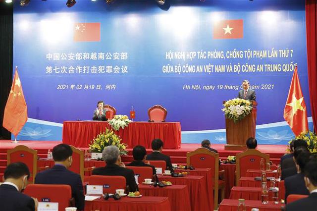 Việt Nam - Trung Quốc đẩy mạnh hợp tác phòng, chống tội phạm - Ảnh 1.