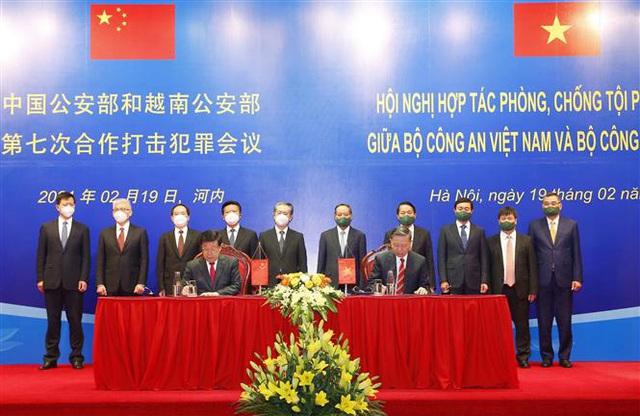 Việt Nam - Trung Quốc đẩy mạnh hợp tác phòng, chống tội phạm - Ảnh 2.