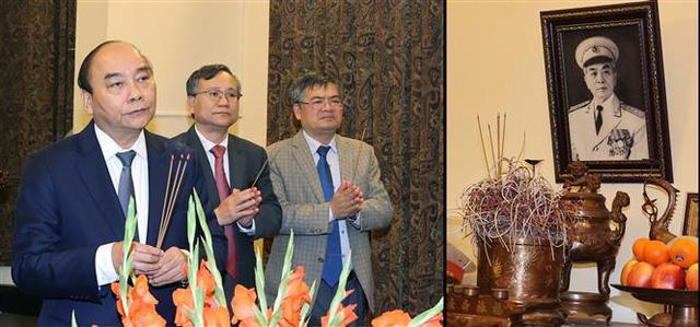 Thủ tướng dâng hương tưởng nhớ các đồng chí nguyên lãnh đạo đã từ trần - Ảnh 3.