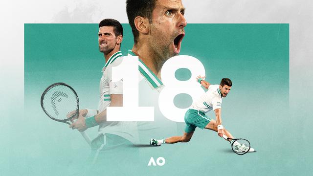 Thắng áp đảo Medvedev, Djokovic lần thứ 9 đăng quang tại Australia mở rộng - Ảnh 4.