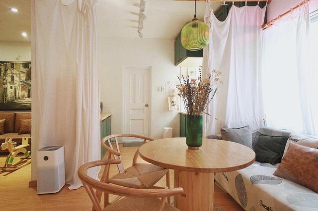 Chàng trai cải tạo chung cư cũ kỹ, màu mè thành căn hộ xinh xắn - Ảnh 10.