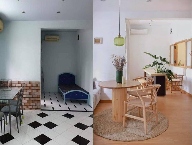 Chàng trai cải tạo chung cư cũ kỹ, màu mè thành căn hộ xinh xắn - Ảnh 4.