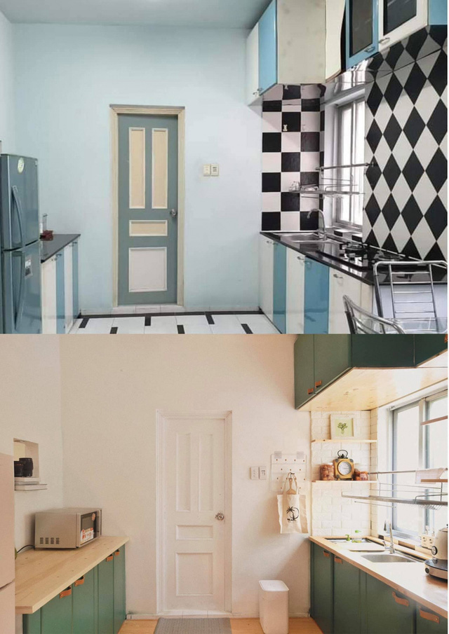 Chàng trai cải tạo chung cư cũ kỹ, màu mè thành căn hộ xinh xắn - Ảnh 5.