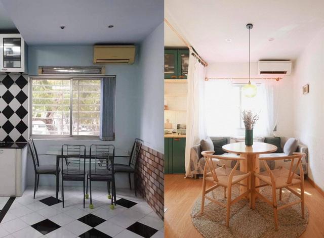 Chàng trai cải tạo chung cư cũ kỹ, màu mè thành căn hộ xinh xắn - Ảnh 6.