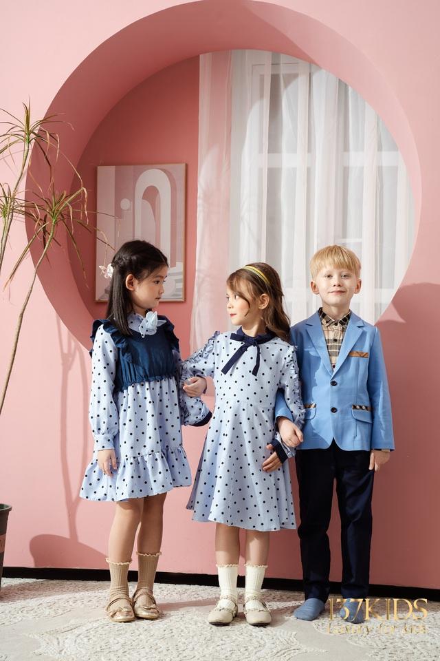 Bộ sưu tập váy thiết kế cao cấp nhà 137 KIDS - Ảnh 1.