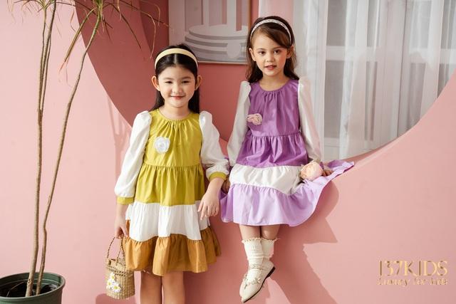 Bộ sưu tập váy thiết kế cao cấp nhà 137 KIDS - Ảnh 4.