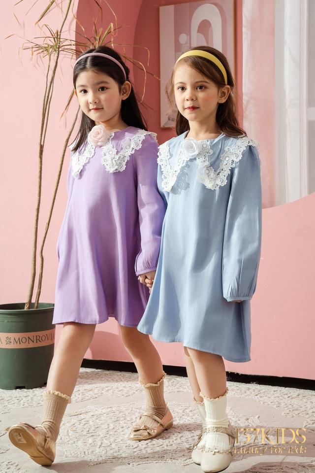 Bộ sưu tập váy thiết kế cao cấp nhà 137 KIDS - Ảnh 5.