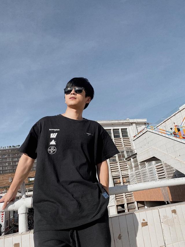 Ngất ngây với gu thời trang cá tính, năng động của Trần Nghĩa ngoài đời - Ảnh 4.