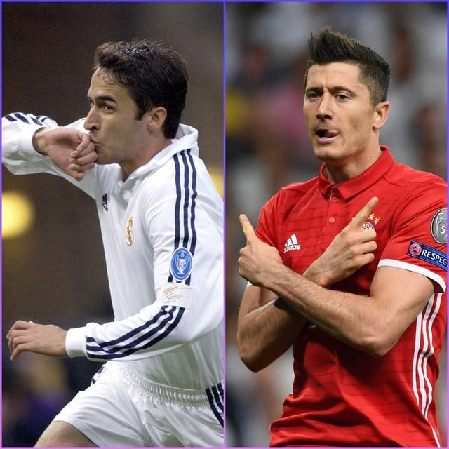 Vượt mặt Raul, Lewandowski vào top 3 chân sút vĩ đại nhất Champions League - Ảnh 1.