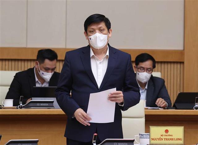 Thủ tướng Nguyễn Xuân Phúc chủ trì họp Thường trực Chính phủ chốt một số vấn đề về phòng chống COVID-19 - Ảnh 2.