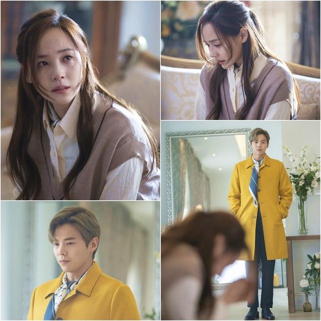Cuộc chiến thượng lưu phần 2: Logan Lee (Park Eun Suk) lạnh lùng nhìn Oh Yoon Hee (Eugene) - Ảnh 1.