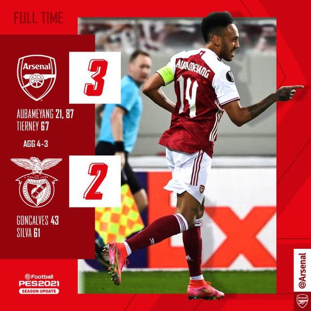Arsenal 3-2 Benfica: Rượt đuổi nghẹt thở, thắng lợi cảm xúc! - Ảnh 5.