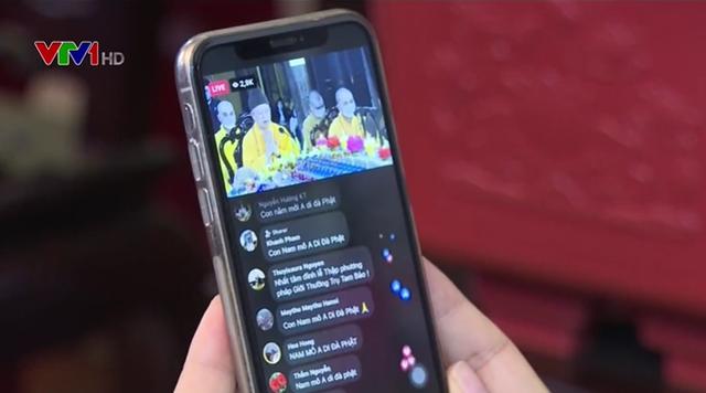 Giáo hội Phật giáo Việt Nam khuyến khích lễ chùa, cầu an trực tuyến - Ảnh 1.