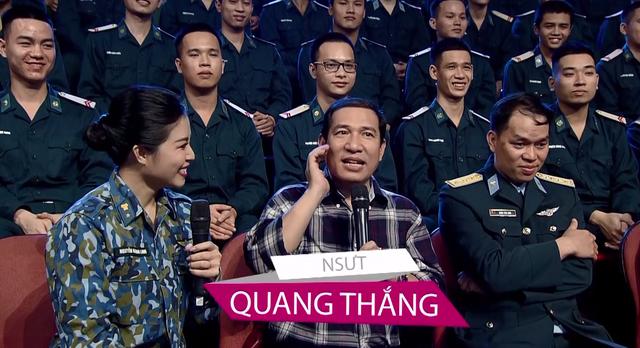 Nghệ sĩ Quang Thắng không ngại đọ sức với các chiến sĩ Phòng không Không quân - Ảnh 1.