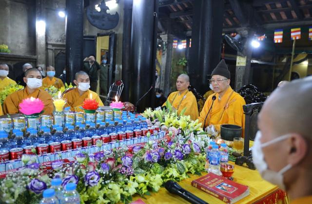Cảnh tượng chưa từng có tại lễ cầu an chùa Phúc Khánh - Ảnh 2.