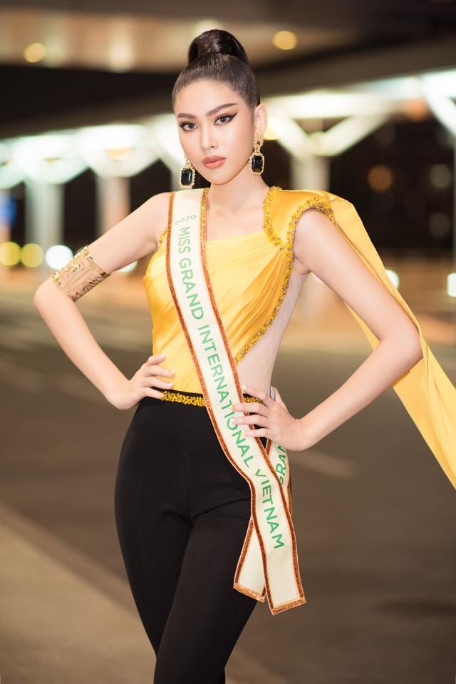 Á hậu Ngọc Thảo chính thức lên đường dự thi Miss Grand International - Ảnh 7.