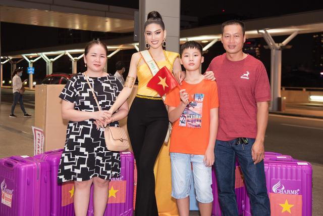 Á hậu Ngọc Thảo chính thức lên đường dự thi Miss Grand International - Ảnh 5.