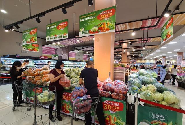 Thêm siêu thị chung tay giải cứu nông sản Hải Dương - Ảnh 1.