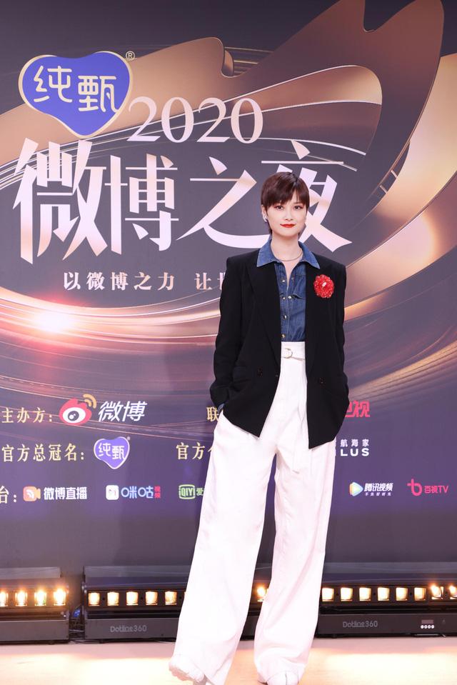 Thảm đỏ Đêm hội Weibo: Triệu Lệ Dĩnh, Angelababy kém nổi bật trong dàn mỹ nhân - Ảnh 10.