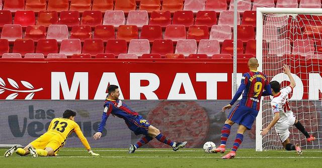 Sevilla 0-2 Barcelona: Messi tỏa sáng - Ảnh 2.
