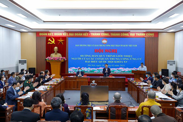 207 người ứng cử đại biểu Quốc hội ở Trung ương - Ảnh 1.