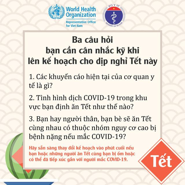 Để đón Tết an toàn trong mùa dịch, Bộ Y tế khuyến cáo những gì? - Ảnh 2.