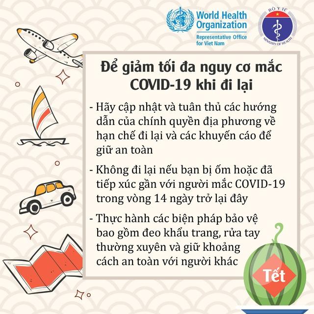 Để đón Tết an toàn trong mùa dịch, Bộ Y tế khuyến cáo những gì? - Ảnh 3.
