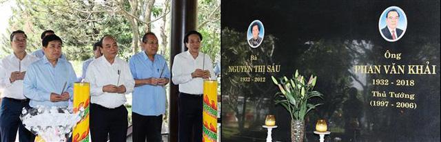Thủ tướng Nguyễn Xuân Phúc dâng hương tưởng nhớ các nguyên lãnh đạo đã từ trần - Ảnh 5.