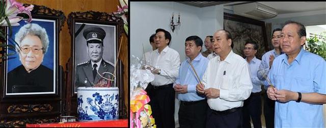Thủ tướng Nguyễn Xuân Phúc dâng hương tưởng nhớ các nguyên lãnh đạo đã từ trần - Ảnh 2.