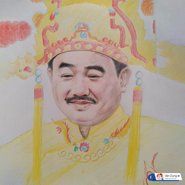Vân Dung xúc động khi được khán giả vẽ tặng cả dàn Táo quân - Ảnh 6.