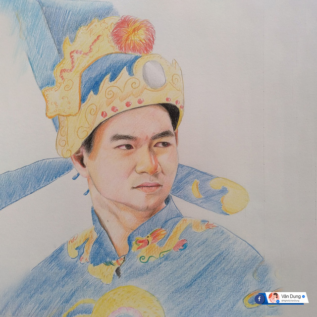 Vân Dung xúc động khi được khán giả vẽ tặng cả dàn Táo quân - Ảnh 7.