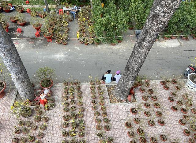 Đường phố TP Hồ Chí Minh vắng tanh trong ngày 28 Tết - Ảnh 10.