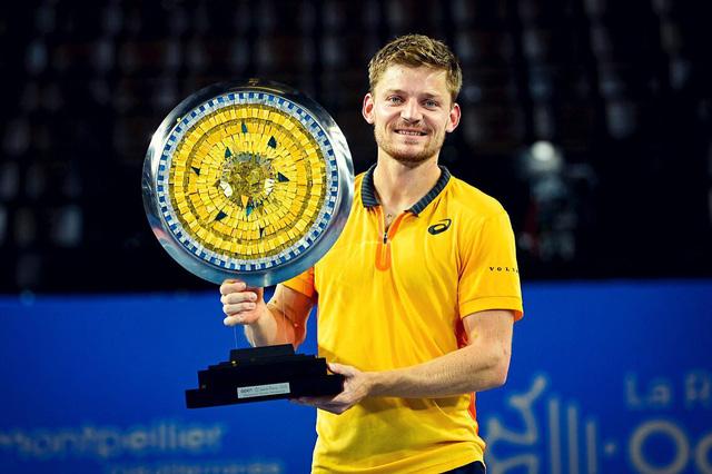David Goffin vô địch giải quần vợt Open Sud de France 2021 - Ảnh 1.